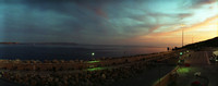 Sunset Mgarr View Towards Malta And Terminal